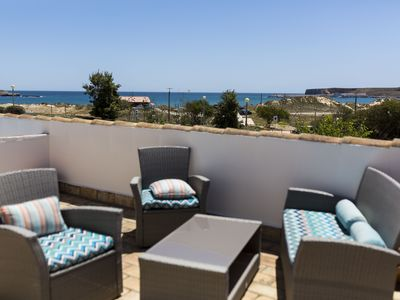 Photo for Beach front villa located at Martinhal.  The closest private villa to the beach