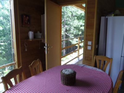 Photo for MOUNTAIN CHALET AT THE FOOT OF THE HIGHEST HILLS OF CORSICA
