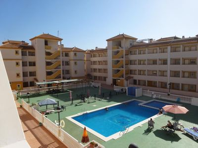 Photo for 2nd Floor Apartment with Balcony, Free Fast WiFi, Smart TV.  Communal Pool