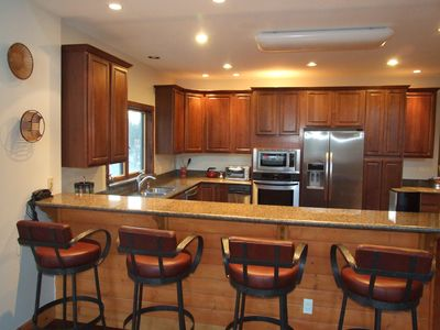 Fully Furnished Kitchen and Bar