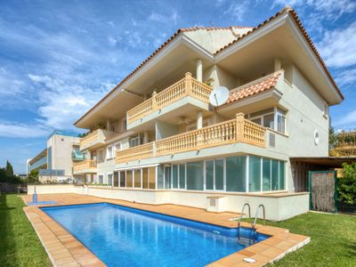 Photo for Xabia Apartment, Sleeps 6 with Pool, Air Con and Free WiFi