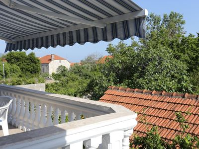 Photo for One bedroom apartment with balcony Orebić (Pelješac) (A-10100-b)