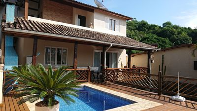Photo for HOUSE WITH SWIMMING POOL FOR UP TO 10 PEOPLE 1700 METERS FROM THE BEACH OF CURRAL