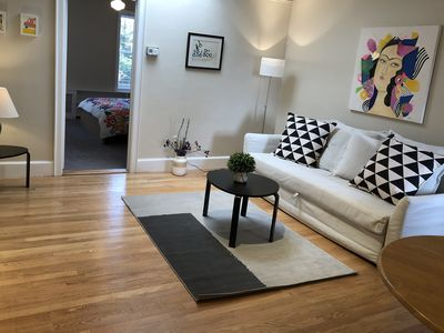 Photo for Lovely 2d Floor Apartment in the Historic Part of Capitol Hill +Parking
