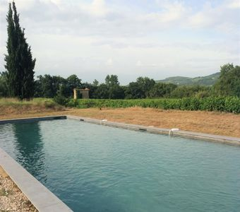 Photo for In the heart of an olive grove of 8 hectares with swimming pool of 16m long