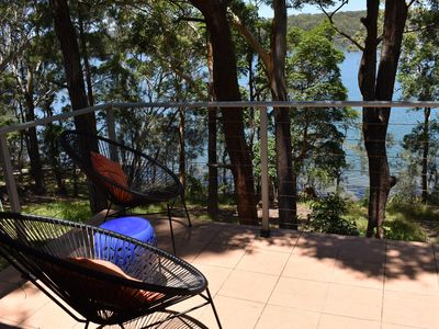 Photo for Amaroo on the Waterfront, kayaks, table tennis, wood fire, lake views, BBQ