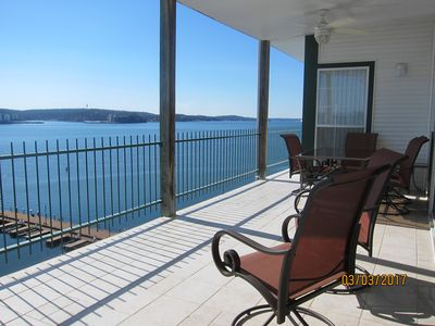 Photo for Waterfront Condo with Amazing View