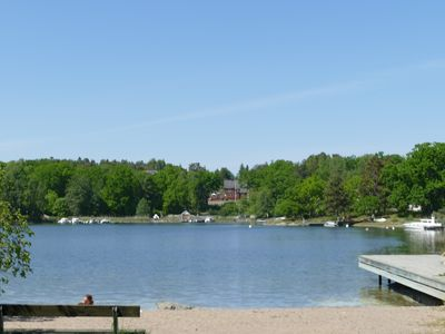 Photo for Stockholm Archipelago. 100 m to the sea, 30 min drive from central Stockholm