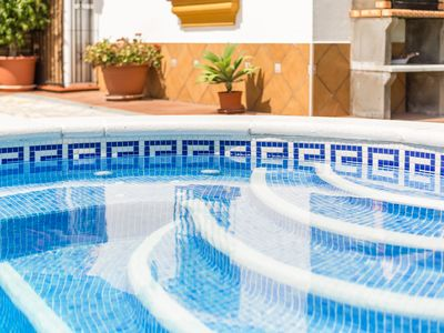 Photo for Air-Conditioned Apartment with Pool, Terrace, Garden & Wi-Fi; Parking Available