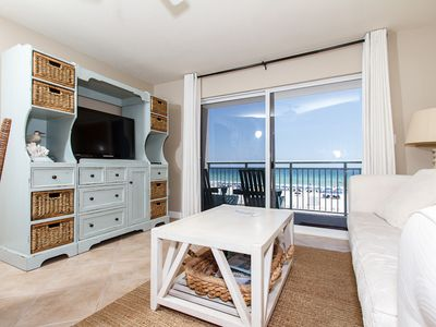 Living Room - Views of the Emerald Coast right from your living room