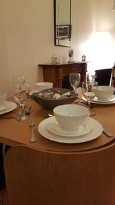 Dining in is possible