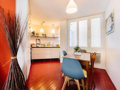 Photo for NANTES RENTAL APARTMENT ELEPHANT - A NEST IN TOWN CENTRE