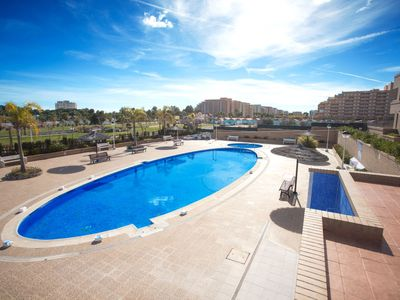 Photo for 2 bedroom Apartment, sleeps 6 in Torre de la Sal with Pool, Air Con and WiFi
