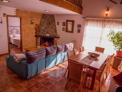 Photo for Rural apartment La Viña for 8 people