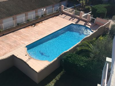 Photo for VILLA ON THE ROOF WITH SWIMMING POOL AND CLEAR VIEW TO THE SEA, TERRACE 45m2