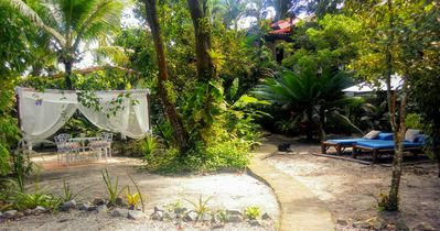 Photo for House to 50m. of the sea, ate9p / 1200m2 of garden. / Pool / Air cond / Street asphalted.