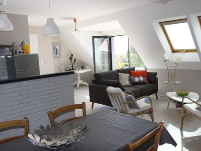 Photo for Nice new and spacious apartment for 3 people