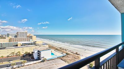 Photo for SPECTACULAR OCEAN VIEWS/OCEANFRONT BUDGET RESORT/UPDATED/NETFLIX/14 POOLS!  WOW!