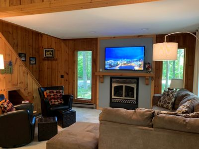 Photo for 3 BR/2BA Home  Sleeps 10 - 1 Mile Fr Mt Snow!