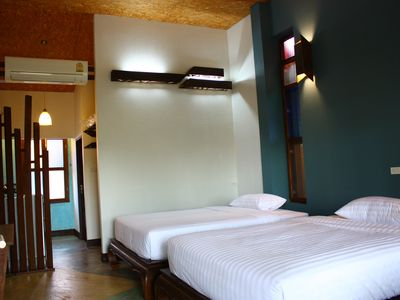 Photo for Bed&Breakfast, 2 Queen size beds near Chiang Mai railway station