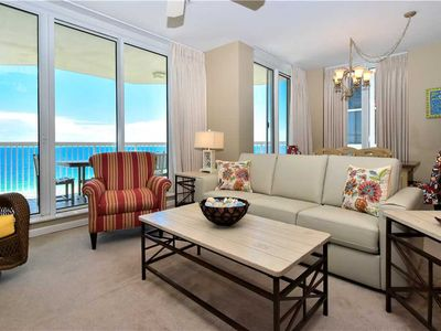 Photo for Spacious Condo Right on the Beach! Large Balcony with Breathtaking Sunset Views