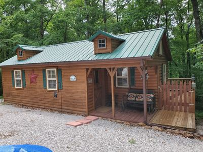 Photo for Cozy Cabin, Big South Fork, Horse property/hiking /kayaking/antiquing