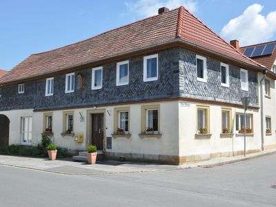 Photo for Sunny Tudor style house in OT of Bad Staffelstein for 9 people