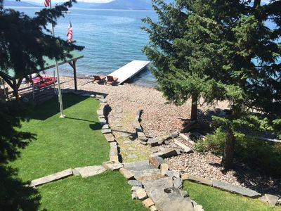 Photo for Yellow Bay Bliss on the East Shore of Flathead Lake with Prime Beach Frontage