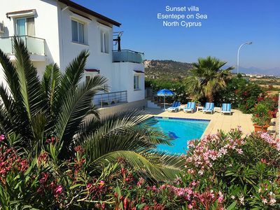 Stunning detached villa with breathtaking uninterrupted sea & mountain views