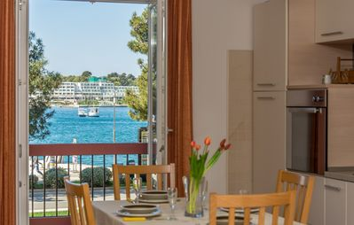 Photo for Apartment Riva Porec with Balcony and Sea View
