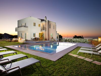 Photo for Total privacy, Pool & huge garden, Hot tub. Located next to the city of Rethymno