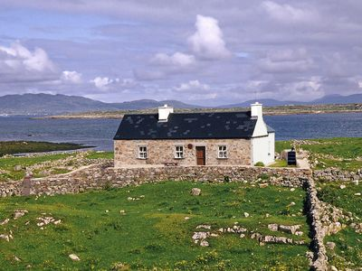 Photo for Renovated stone cottage on delightful small island, completely uninhabited for most of the yea…