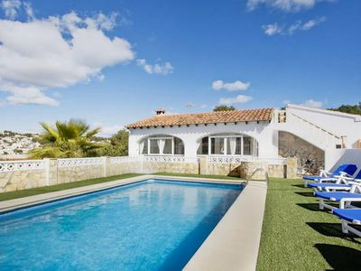 Photo for Villa Mar is situated close to the centre of Moraira and a hire-car is optional. The nearest restaur