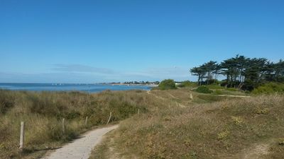Photo for Contemporary house beach in southern Brittany