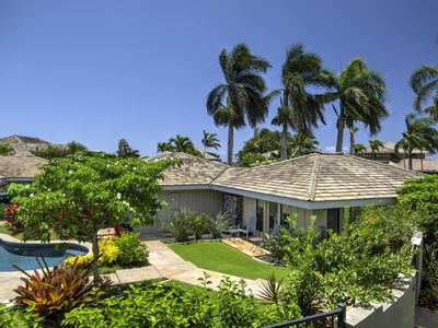 Photo for Lilikoi Moon: Modern Spacious Home w/ Full AC, and Private Pool Courtyard!