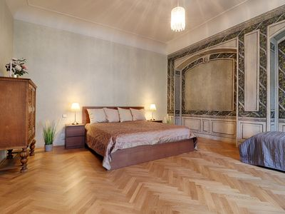 Photo for Spacious 2 bedroom Baroque apartment at Charles Bridge JUST LSITED