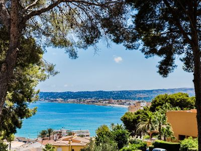 Photo for Villa Diana Port, Modern with AC & Magnificent Sea Views