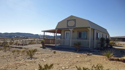Photo for NEW!!! Lorna's Cabin. Conveniently, located in the Terlingua Ghost Town.