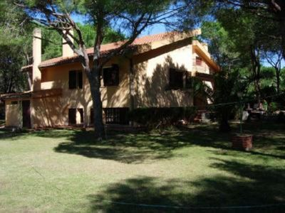 Photo for Large single air-conditioned villa 100 meters from the beach in the pine forest