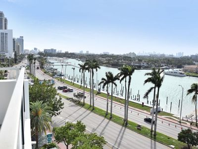 Photo for New Listing! Right On The Beach, Bayfront 3BR/2BA, Pool, Tennis, Close to SoBe