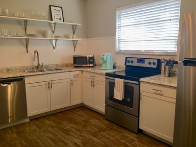 Photo for Renovated in Historic District w/washer & dryer, walk to restaurants and bars!