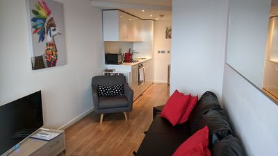 Photo for Prime Leeds Apartment With Balcony