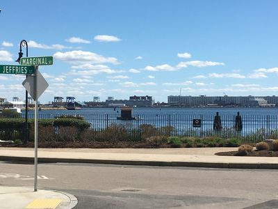 Photo for Cozy 1 Bedroom in East Boston on the Harbor