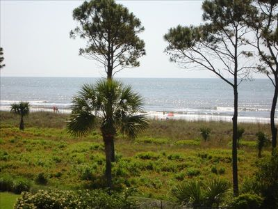 All photos are taken from this condos deck. So you will enjoy this view.See sand