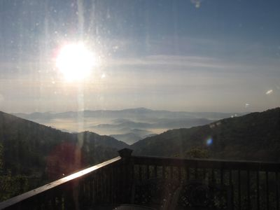 Photo for Mountain Top  Views, Rock Bottom Rates, Central Location