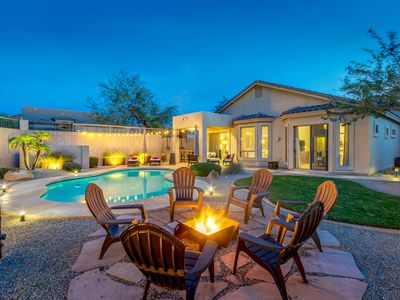 Photo for Luxurious Las Sendas Home With Private Pool, Mountain Views, Gorgeous Amenities And Tons Of Upgrades
