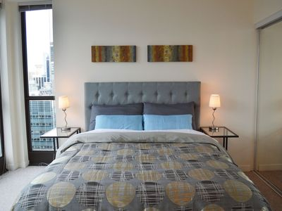 Photo for Hotel-like Condo in Coal Harbor Downtown - Amazing Ocean View!