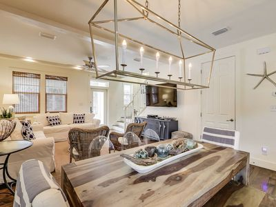 Photo for Professionally Decorated! Short walk to Beach or Rosemary Beach!