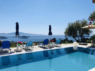 Photo for Sea View Villa with Private Pool