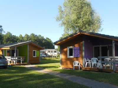 Photo for Chalets confortables dans joli village de bungalows avec piscine commune